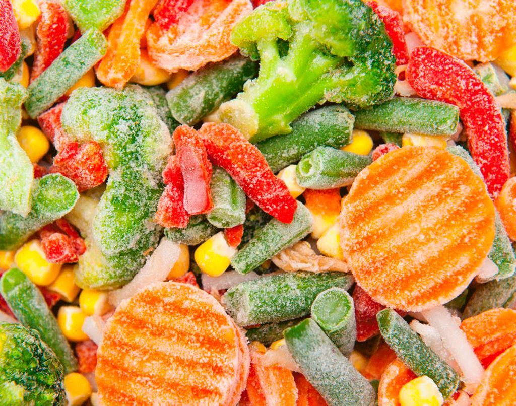 Перевозка замороженных овощей